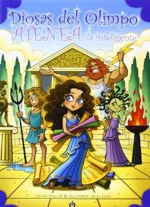 Diosas del Olimpo Atenea la inteligente by paginasdechocolate